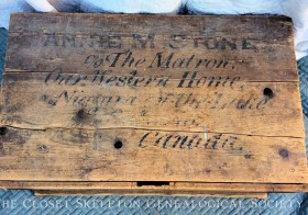 The Project, Blogger Errors, Pinterest and the Trunk of Annie Margaret Stone