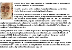 Goodbye to Gerald L. Berry